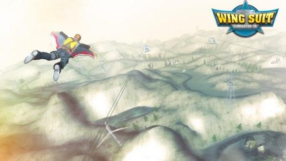 تنزيل لعبة WingSuit Simulator 3D للاندرويد آخر إصدار
